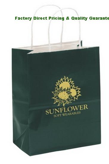 34d8630d7ec2 China Custom Gloss Paper Shopping Bags