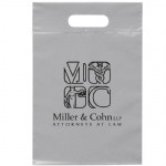 Factory Direct Promotional Plastic Bags Die Cut Handle