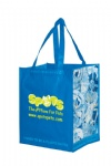 China Custom PET Laminated Grocery Bag