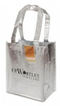 Factory Direct Metallic Non Woven Shopping Bag