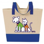 China Custom Canvas Grocery Tote Bag