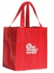 China Custom Poly Big Grocery Bag