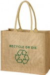 China Custom Jute Grocery Tote Bag