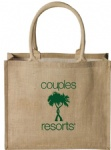 Natural Jute Supermarket Shopping Bags