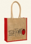 Printed Factory Promotional Jute Tote Bags