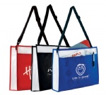 Factory Direct Courier Laminate Sling Bag